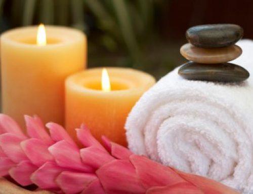 Priprava na masažo in potek masaže