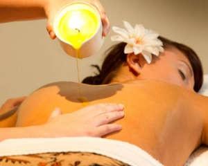 masaža z masažno svečo